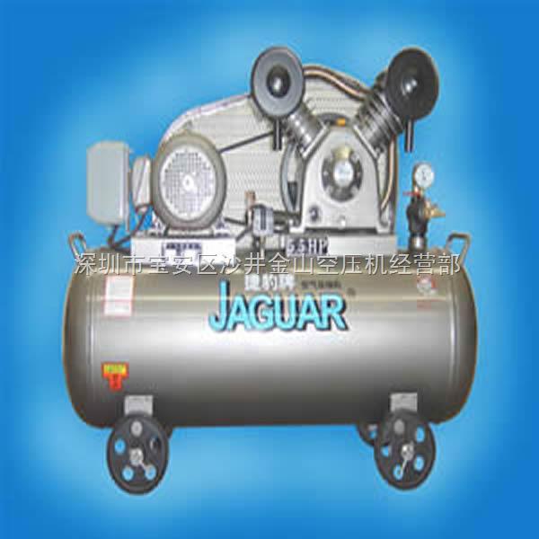 J系列捷豹活塞式空压机特点 1、安全可靠的结构设计; 2、运行平稳、噪音低; 3、安装简便、操作方便; 4、采用高强度耐高温、耐磨耗精密轴承、使用寿命更长; 5、自动压力开关及自动缷载系统的选用; 6、电机:采用铜芯电机,更耐用、寿命更长。 7、主机:日本理研压缩环、合金连杆、瑞典SANDVIK阀组、高级合金曲轴。 相关参数: 型号:EV-80 功率:4KW/5.